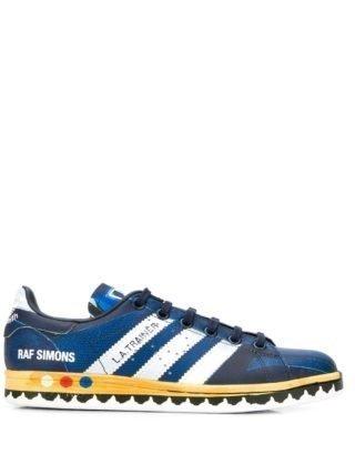 Adidas By Raf Simons X Raf Stan Smith LA leren sneakers - Blauw
