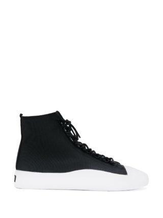 Y-3 Bashyo high-top sneakers - Zwart