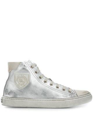 Saint Laurent Bedford sneakers (zilver)