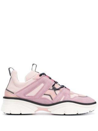 Isabel Marant Sneakers met panelen (roze)