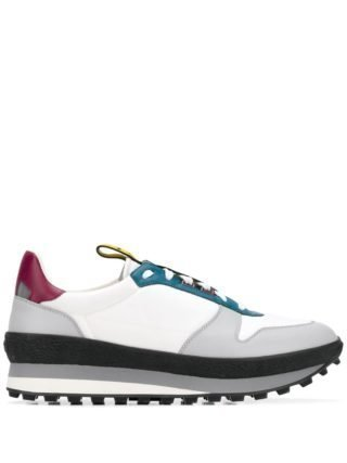 Givenchy Low-top sneakers met contrast (wit)