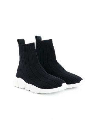 Msgm Kids Slip-on sneakers (zwart)