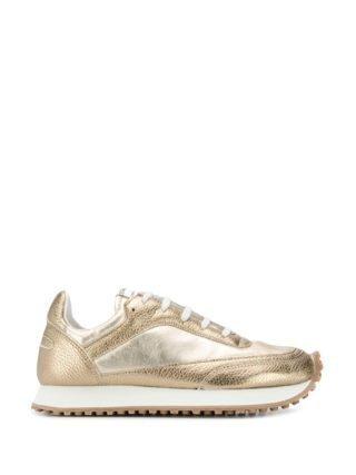 Comme Des Garçons Comme Des Garçons Sneakers met vlakken (goud)