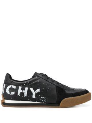 Givenchy Sneakers met spatten print (zwart)