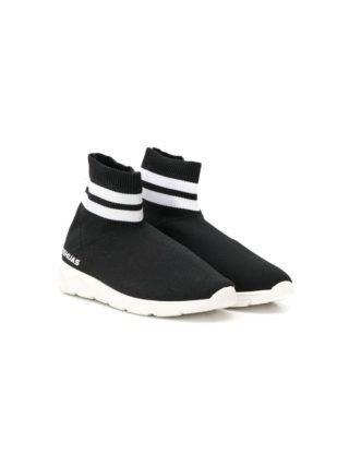 Joshua Sanders Kids sock sneakers (zwart)