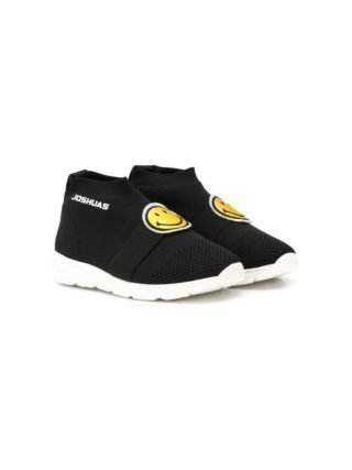 Joshua Sanders Kids Smile sock boots (zwart)