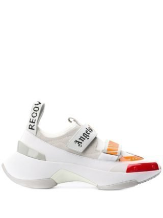Palm Angels Sneakers met chunky zool (wit)