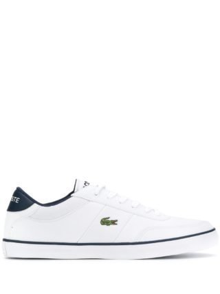 Lacoste Courtmaster low-top sneakers (wit)