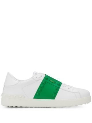 Valentino Rockstud Untitled Open sneakers - Wit