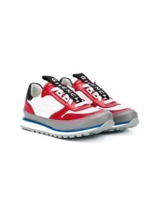 Givenchy Kids Sneakers met logo (rood)