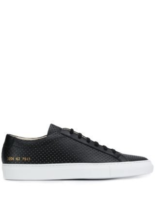 Common Projects Achilles lage sneakers (zwart)