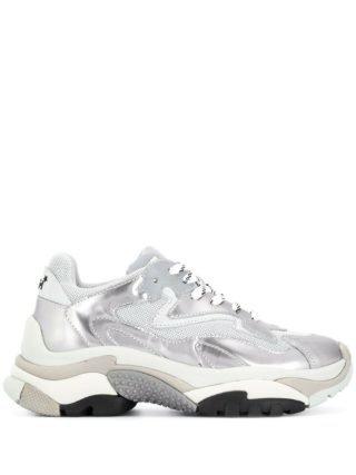 Ash Addict metallic sneakers - Zilver