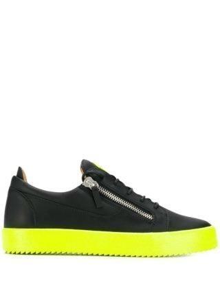 Giuseppe Zanotti Frankie Fluo sneakers - Zwart