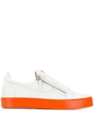 Giuseppe Zanotti Frankie Fluo sneakers - Wit