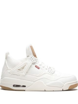 Jordan Air Jordan Retro 4 sneakers - Wit