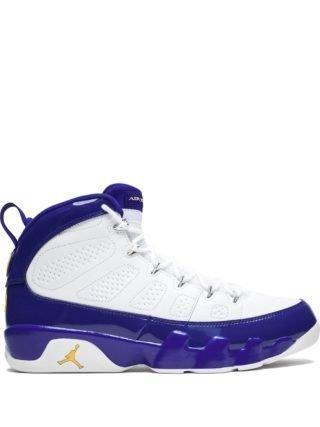 Jordan Air Jordan Retro 9 high top sneakers - Wit