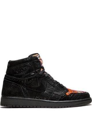 Jordan Air Jordan Retro 1 high top sneakers - Zwart