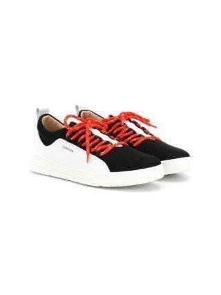 Lanvin Enfant TEEN low-top sneakers (zwart)