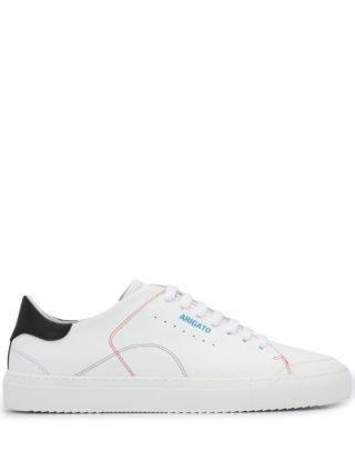 Axel Arigato contrast heel sneakers (wit)