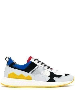 Moa Master Of Arts Sneakers met colourblocking (grijs)