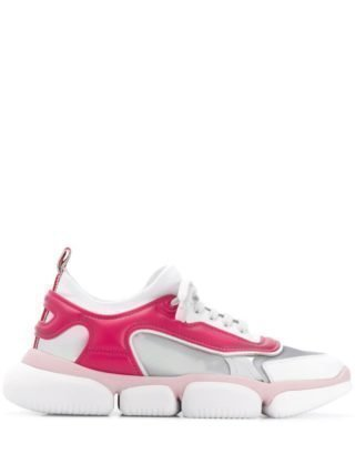 Moncler Briseis chunky sneakers (wit)