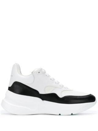 Alexander McQueen Hardloop sneakers (wit)