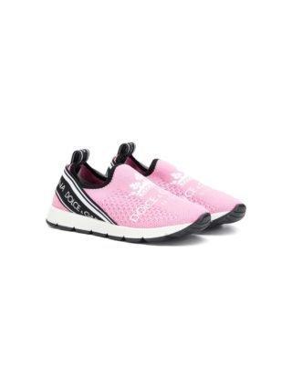 Dolce & Gabbana Kids Instap sneakers (roze)