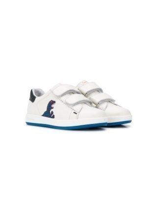 Paul Smith Junior Sneakers met dinosaurus (wit)