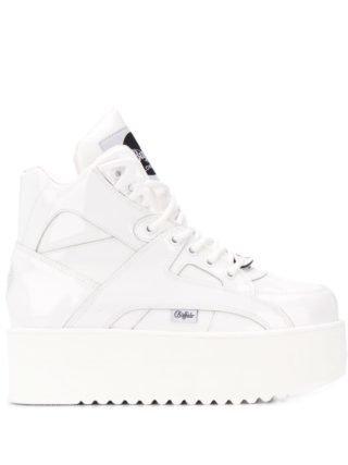Junya Watanabe platform lace-up sneakers (wit)
