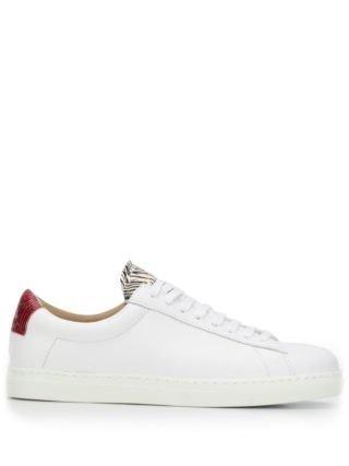 Zespa Sneakers met print (wit)