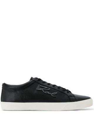 Karl Lagerfeld Karl signature sneakers (zwart)