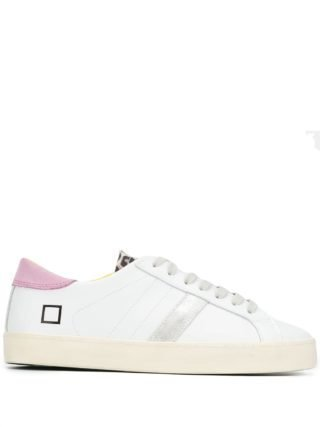 D.A.T.E. Classic low top sneakers (wit)