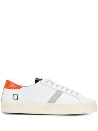 D.A.T.E. Sneakers met veters (wit)