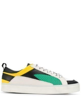D.A.T.E. Low-top sneakers (wit)