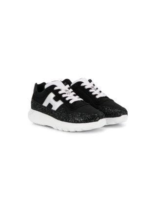 Emporio Armani Kids Interactive³ sneakers (zwart)