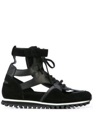 Comme Des Garçons Homme Plus CDG Spalwart Marathon high-top sneakers (zwart)