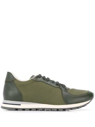 Canali Sneakers met veters (groen)