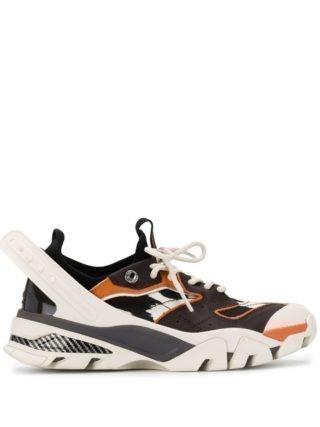 Calvin Klein 205W39nyc Carla 10 sneakers met mesh (bruin)