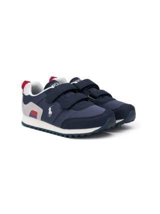 Ralph Lauren Kids Richardson EZ sneakers (blauw)