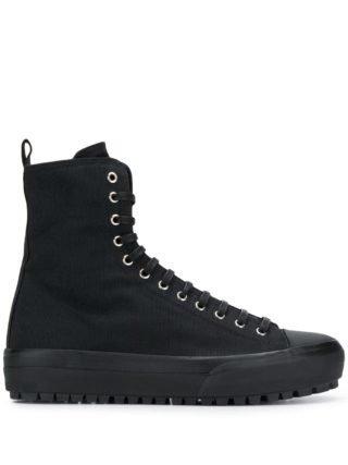 Jil Sander High-top sneakers (zwart)