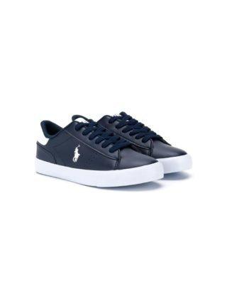 Ralph Lauren Kids Low-top sneakers (blauw)