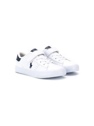 Ralph Lauren Kids Low-top sneakers (wit)
