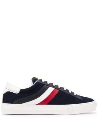 Moncler Driekleurige sneakers (blauw)