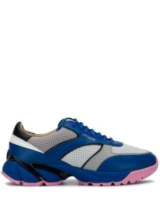 Axel Arigato Sneakers met colourblocking (blauw)