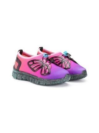 Sophia Webster Mini Vlinder sneakers (roze)