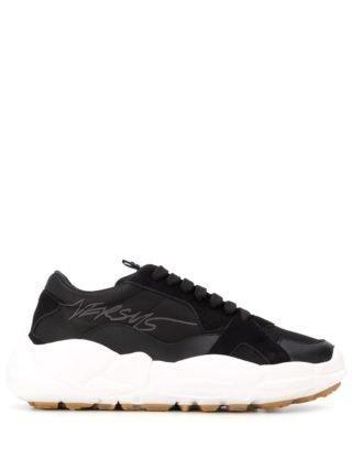 Versus Sneakers met logo (zwart)