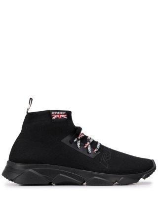 Represent Soksneakers (zwart)