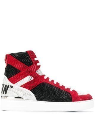Philipp Plein High top sneakers (zwart)