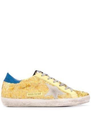 Golden Goose Deluxe Brand May low-top sneakers - Geel