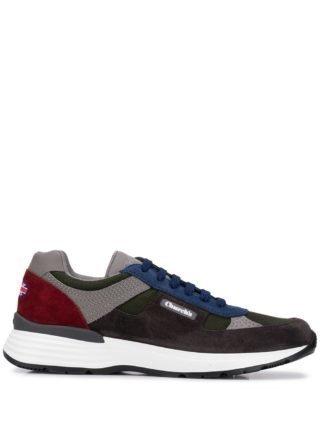 Church's Sneakers met colourblocking (grijs)